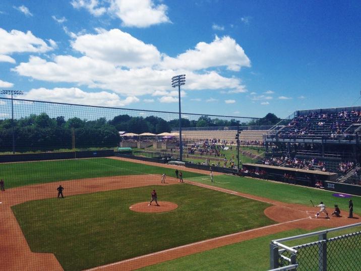 TCU baseball games